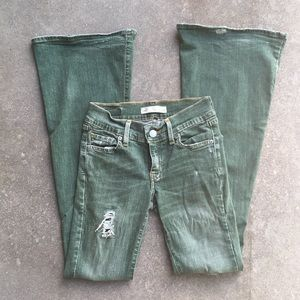 Free People Green Flares